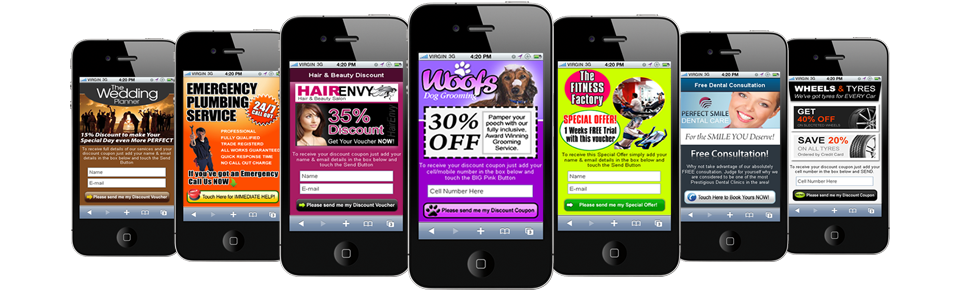 mobile website design examples